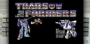 Transformers (Ocean) – Commodore 64